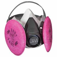 3M 6000 Series Half Facepiece Respirator 6191,  P100 Small