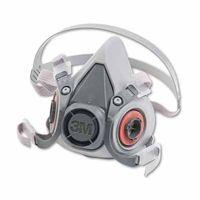 3M 6000 Series Half Facepiece Respirator 6200, Medium