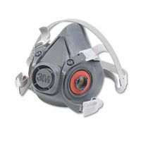 3M 6000 Series Half Facepiece Respirator 6300, Large