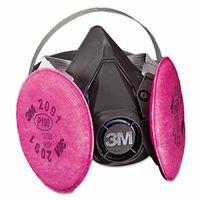 3M 6000 Series Half Facepiece Respirator, P100 Large