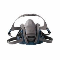 3M 6501QL Rugged Comfort Quic-Latch Half-Facepiece Reusable Respirator, Small