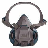 3M 6502 Rugged Comfort Half-Facepiece Reusable Respirator, Medidum