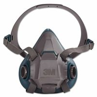 3M 6503 Rugged Comfort Half-Facepiece Reusable Respirator, Large