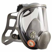 3M Full Facepiece Reusable Respirator 6900, Respiratory Protection, Large