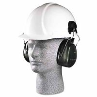 3M H7P3E Peltor™ Optime™ 101 Cap-Mount Earmuffs, Hearing Conservation