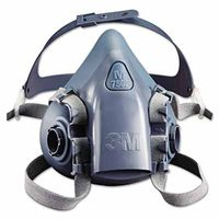 3M Half Facepiece Reusable Respirator 7501, Respiratory Protection, Small