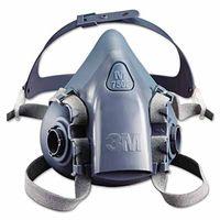 3M Half Facepiece Reusable Respirator 7502, Respiratory Protection, Medium