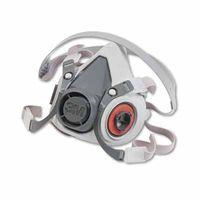3M Half Facepiece Reusable Respirator Drop Down 6100DD, Respiratory Protection, Small