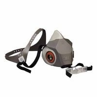 3M Half Facepiece Reusable Respirator Drop Down 6200DD, Respiratory Protection, Medium