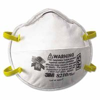 3M Particulate Respirator 8210Plus, N95, 20 per Box