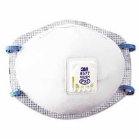 3M Particulate Respirator 8577, P95 w/ Nuisance Level Organic Vapor Relief , 10 per Box