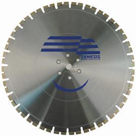 48 x .250 x 1 Diamond Vantage Saw Blade: ZX4 Series