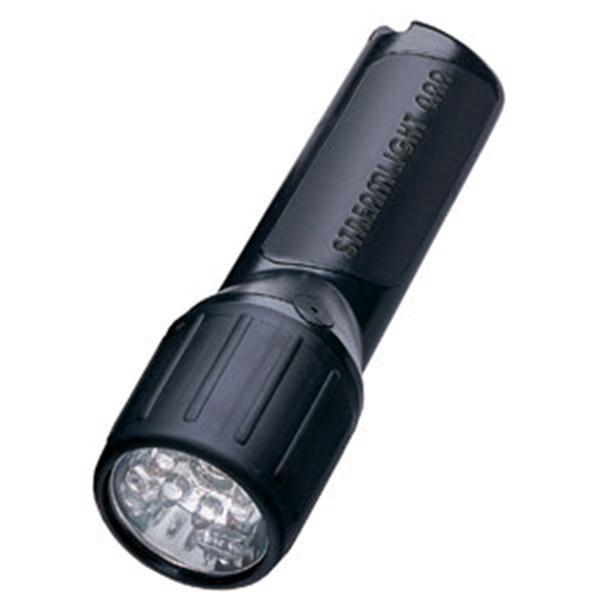 4AA ProPolymer® LED Class 1, Division 1 Flashlight, Black