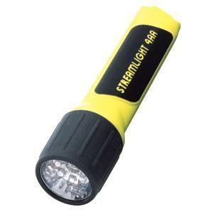 4AA ProPolymer® LED Class 1, Division 1 Flashlight, Yellow (Boxed)
