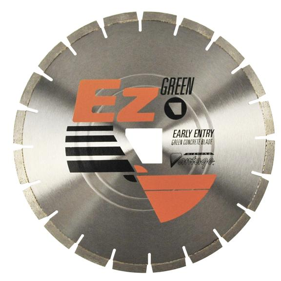 5 x 0.080 Diamond Vantage: EZ350 Orange Series Saw Blade for Early Entry