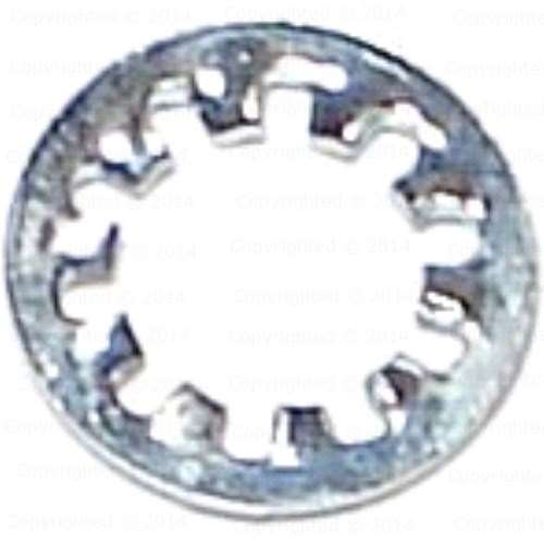 #6 INT TOOTH LOCK WASHER ZINC AND BAKE