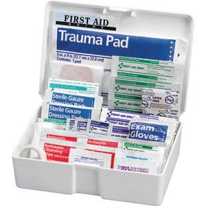 81-Piece All-Purpose First Aid Kit, Plastic