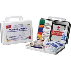 93-Piece Vehicle First Aid Kit (Plastic)