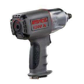 Aircat 1200K NITROCAT 1/2 Kevlar Composite Xtreme Power Twin Clutch Impact Wrench