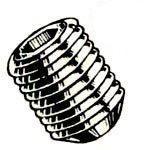 Alloy Steel Coarse Thread Cup Point Socket Set Screws by Mutual Screw