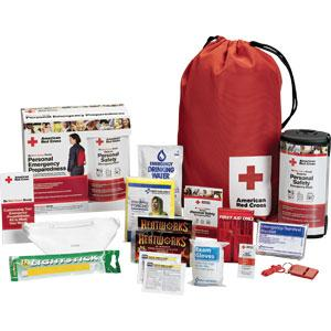 American Red Cross Personal Safety Backpack