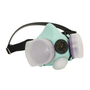 Blue 1H Half Mask Respirator, Medium