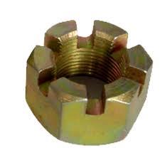 Brass Castle Nut