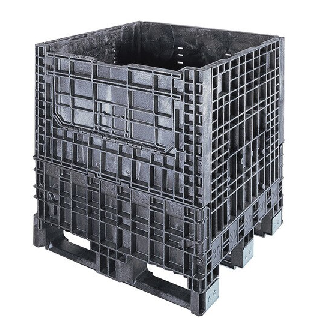 Buckhorn® 32-1/8L x 30W x 34H Collapsible Extended Length Box - 2,000lb Capacity