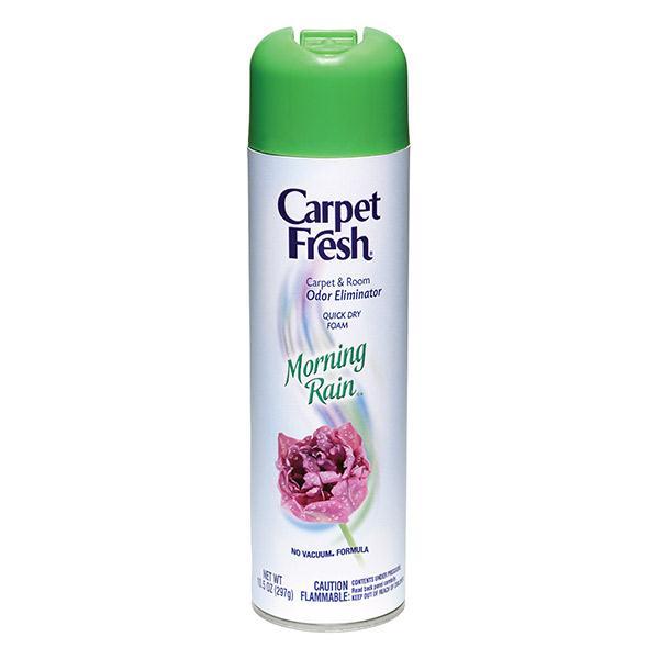 Carpet Fresh® No-Vacuum, Morning Rain, 10.5 oz Aerosol