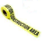Caution Construction Area Tape 3 X 1,000 Feet