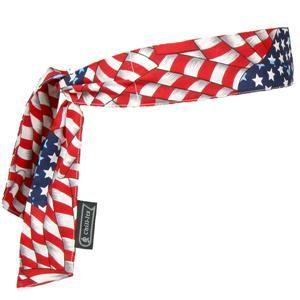 Chill-Its® 6700 Bandana, Tie Closure, Stars/Stripes