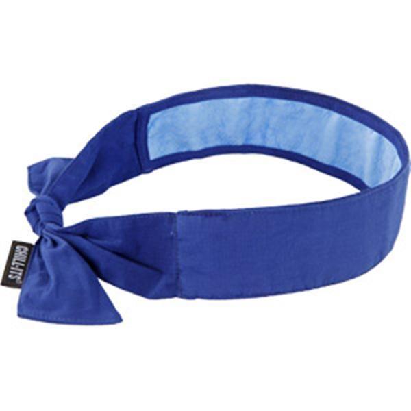 Chill-Its® 6700CT Cooling Towel Bandana, Blue