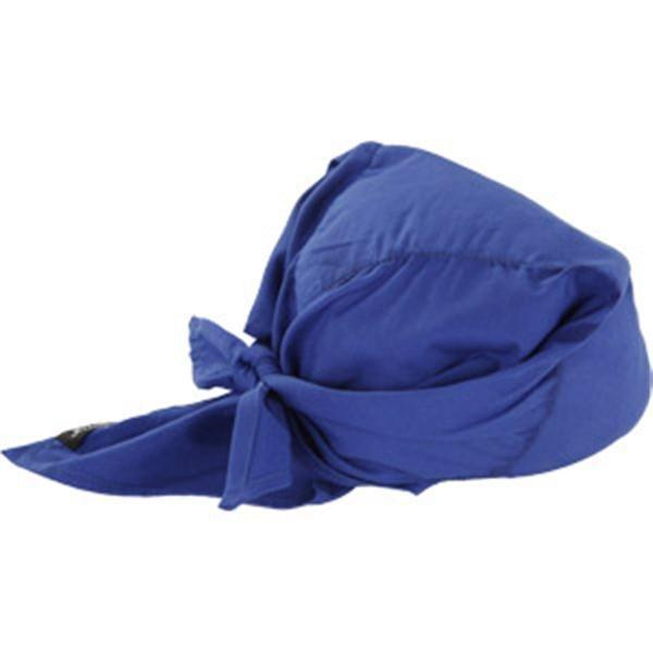 Chill-Its® 6710CT Cooling Towel Triangle Hat, Blue