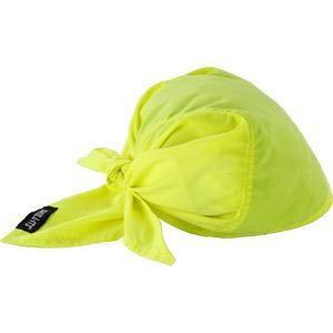 Chill-Its® 6710CT Cooling Towel Triangle Hat, Lime