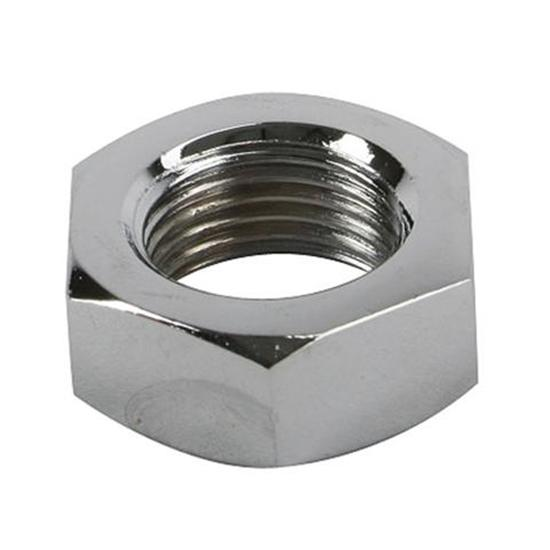 Chrome Plated 18/8 Stainless Steel Finish Hex Nut