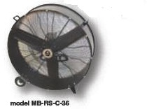 Commercial Direct Drive Blower, 36