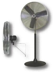 Commercial Pedestal Fan, 24
