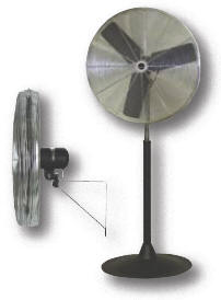 Commercial Pedestal Fan, 30