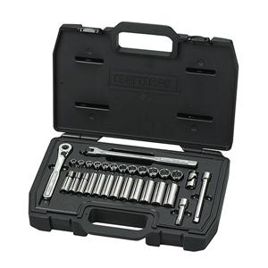 Craftsman® Industrial™ 34-Piece Socket Wrench Set, 3/8 Drive