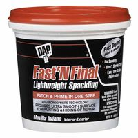 DAP® FAST 'N FINAL® Lightweight Spackling 32 oz