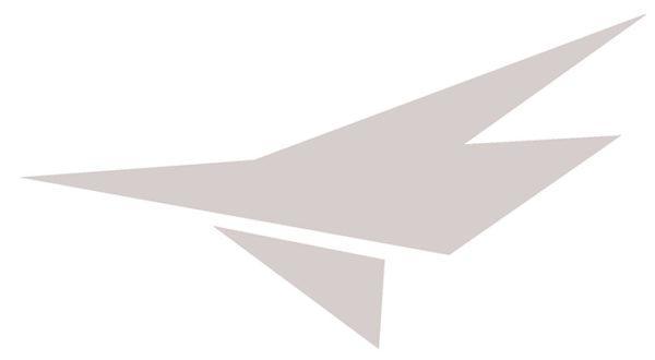 Decal, JetGo, Big White Airplane (left side), 9.125? x 5