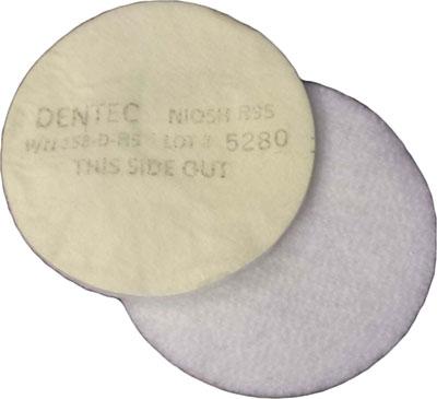 Dentec Safety R95 Filter Pad - BULK 1000