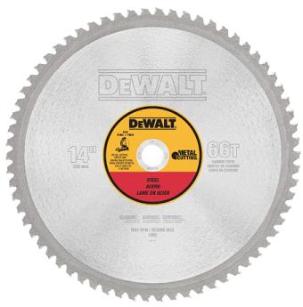 DeWalt 14 Light Gauge Ferrous Metal Circular Saw Blade - 1 Arbor