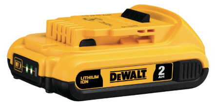 DeWalt 20V MAX 2Ah Compact Lithium Ion Battery Pack