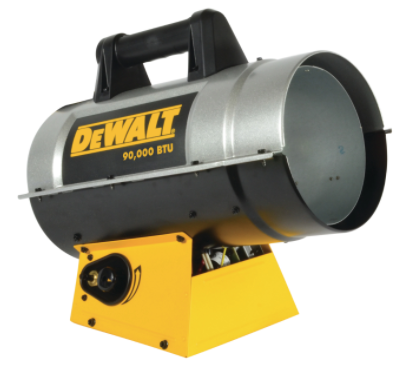 DeWalt 90,000 BTU Forced Air Propane Heater
