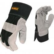 Dewalt Select Shoulder Cowhide Leather Palm Glove- Large