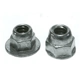 Die Cast Zinc Alloy Washer Based Hex Low Crown Open Cap (Acorn) Nuts