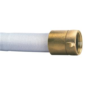 Double Jacket Hose, 1 1/2 x 50', Brass NPSH