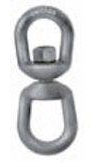 Drop Forged Steel Eye and Eye Swivels Hot Dipped Galvanized Made in USA