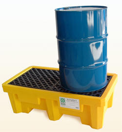 Drum Spill Pallet for 2 Drums